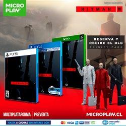 Ofertas de PlayStation 4 en Microplay