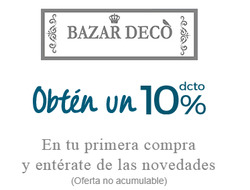 Ofertas de Bazar Deco  en el catálogo de Lo Barnechea
