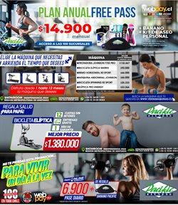 Ofertas de Contratos en Pacific Fitness