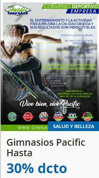 Ofertas de Pacific Fitness  en el catálogo de Santiago