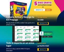 Ofertas de Direct TV en el catálogo de Direct TV ( 2 días más)