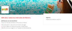 Ofertas de Restaurantes  en el catálogo de Boost en Providencia