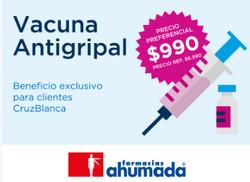 Ofertas de Cruz Blanca  en el catálogo de Santiago