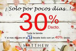 Ofertas de Matthew  en el catálogo de Santiago