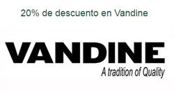 Ofertas de Vandine  en el catálogo de Santiago