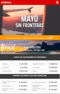 Ofertas de Vuelos  en el catálogo de Atrápalo en Santiago