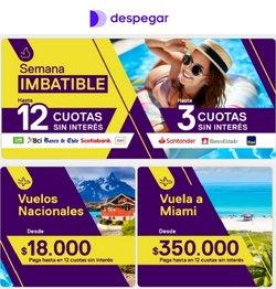 Ofertas de Despegar.com en el catálogo de Despegar.com ( 2 días más)