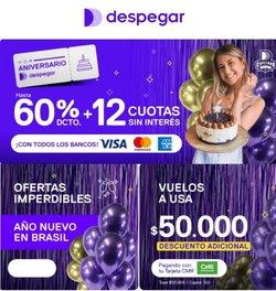 Ofertas de Viajes y Ocio en el catálogo de Despegar.com ( 3 días más)
