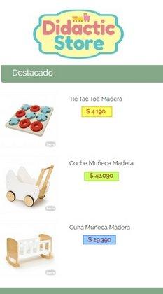 Ofertas de Didactic Store en el catálogo de Didactic Store ( 9 días más)