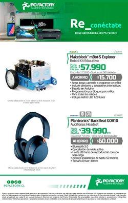 Catálogo PC Factory ( 8 días más)