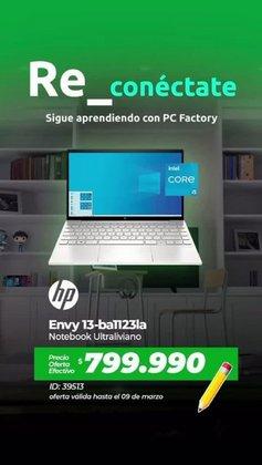 Catálogo PC Factory ( Vence mañana)
