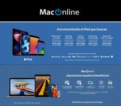 Ofertas de Computación y Electrónica en el catálogo de MacOnline ( 7 días más)