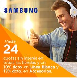Ofertas de Samsung  en el catálogo de Santiago