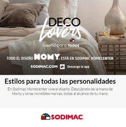 Ofertas de HomeCenter Sodimac en el catálogo de HomeCenter Sodimac ( 6 días más)