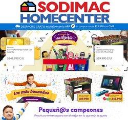 Ofertas de Ferretería y Construcción en el catálogo de HomeCenter Sodimac ( Publicado ayer)