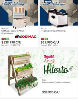 Ofertas de Ferretería y Construcción en el catálogo de HomeCenter Sodimac ( 2 días más)