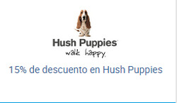Ofertas de Hush Puppies  en el catálogo de Santiago
