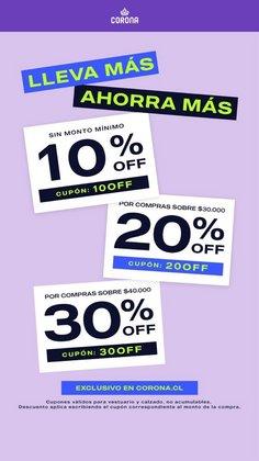 Catálogo Corona ( 7 días más)