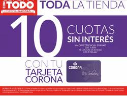 Ofertas de Corona  en el catálogo de Santiago