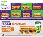 Ofertas de Restaurantes en el catálogo de Subway en Santiago ( 5 días más )