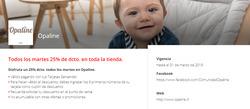 Ofertas de Juguetes y bebés  en el catálogo de Opaline en Puerto Varas