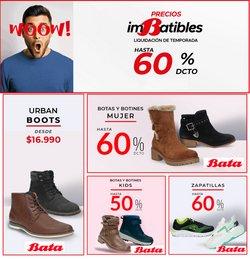 Ofertas de Bata zapaterías en el catálogo de Bata zapaterías ( 2 días más)