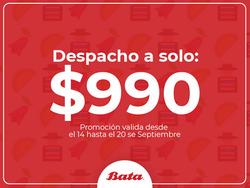 Ofertas de Bata zapaterías  en el catálogo de Santiago