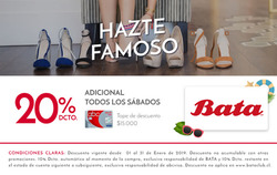 Ofertas de Bata zapaterías  en el catálogo de Talca (Maule)