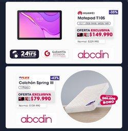Ofertas de Huawei en el catálogo de Abcdin ( Vence mañana)