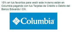 Ofertas de Columbia  en el catálogo de Santiago