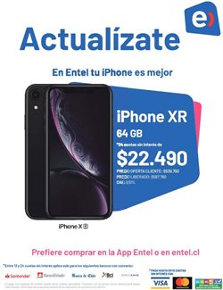 Ofertas de IPhone 5 en Entel