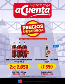 Catálogo Super Bodega a Cuenta ( 25 días más)