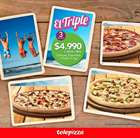 Catálogo Telepizza ( 4 días más )