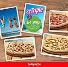Catálogo Telepizza en Viña del Mar ( 4 días más )