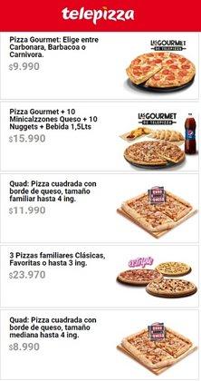 Catálogo Telepizza ( 25 días más)