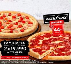 Ofertas de Telepizza en el catálogo de Telepizza ( 15 días más)