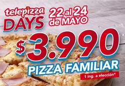 Ofertas de Telepizza  en el catálogo de Santiago