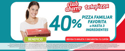 Ofertas de Restaurantes  en el catálogo de Telepizza en Santiago