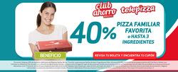 Ofertas de Restaurantes  en el catálogo de Telepizza en Huechuraba