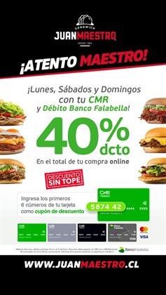 Ofertas de Sandwiches en Juan Maestro