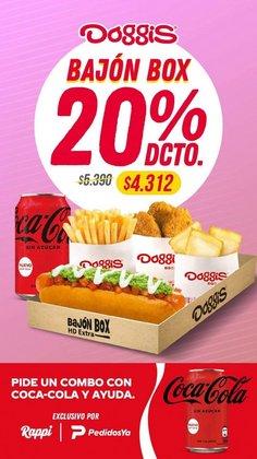 Ofertas de Restaurantes y Pastelerías en el catálogo de Doggis ( 7 días más)