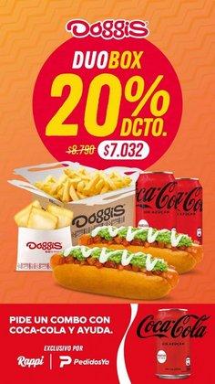 Ofertas de Restaurantes y Pastelerías en el catálogo de Doggis ( 6 días más)