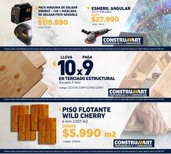 Ofertas de Ferretería y Construcción en el catálogo de Construmart ( Publicado ayer)