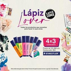 Ofertas de Viajes y Ocio en el catálogo de Lápiz López ( 5 días más)
