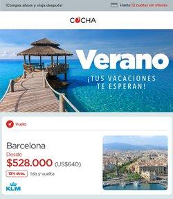 Ofertas de Viajes y Ocio en el catálogo de Cocha ( 2 días más)