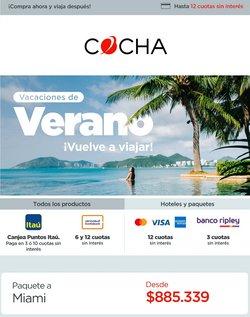 Ofertas de Viajes y Ocio en el catálogo de Cocha ( 14 días más)