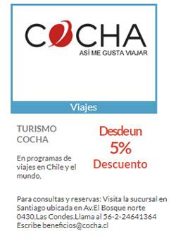 Ofertas de Cocha  en el catálogo de Las Condes