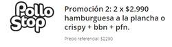 Ofertas de Pollo Stop  en el catálogo de Santiago
