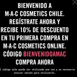 Ofertas de MAC Cosmetics  en el catálogo de Las Condes