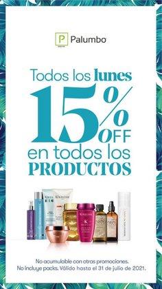 Ofertas de Perfumerías y Belleza en el catálogo de Palumbo ( 2 días más)